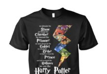 Harry Potter generation we defended the stone we found the chamber unisex shirt