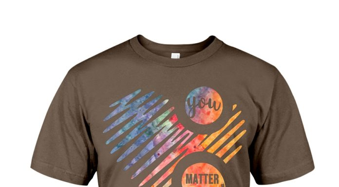 Heart semicolon you matter don't let your story end shirt