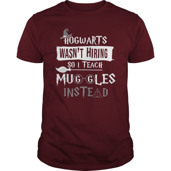 Hogwarts wasn't hiring so I teach muggles instead shirt