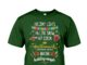 Holiday lights falling snow hot cocoa Hallmark Christmas movies shirt