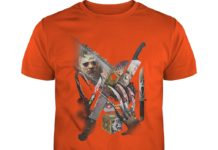 Horror movie villains weapons shirt