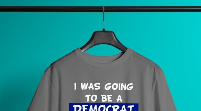 I Was Going To Be A Democrat For Halloween But My Head Wouldn't Fit Up My Ass shirt