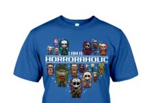 I am a horroraholic shirt