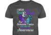 I was teal and purple for someone I miss every single day suicide prevention awareness shirt