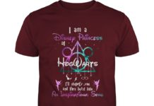I'm a disney princess at hogwarts shirt