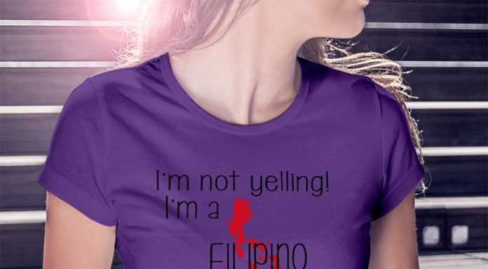 I'm not yelling I'm a Filipino girl We just talk Loud shirt