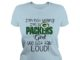 I'm not yelling I'm a Packers Girl we just talk Loud shirt