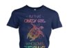 I'm that crazy girl who loves turtles a lot women's crew tee
