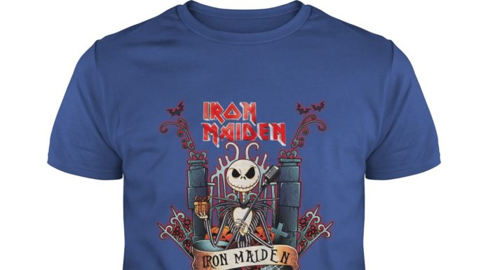Jack Skellington Iron Maiden shirt