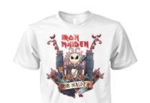 Jack Skellington Iron Maiden unisex cotton tee