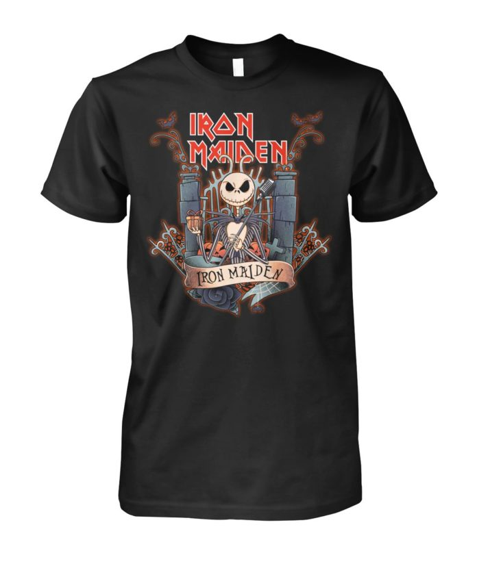 Jack Skellington Iron Maiden unisex shirt