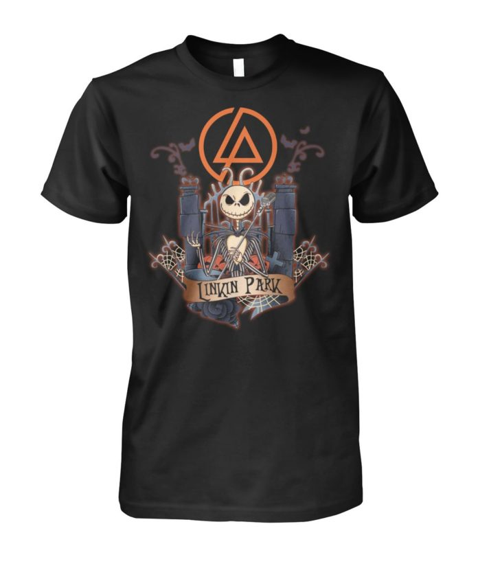 Jack Skellington Linkin Park unisex shirt
