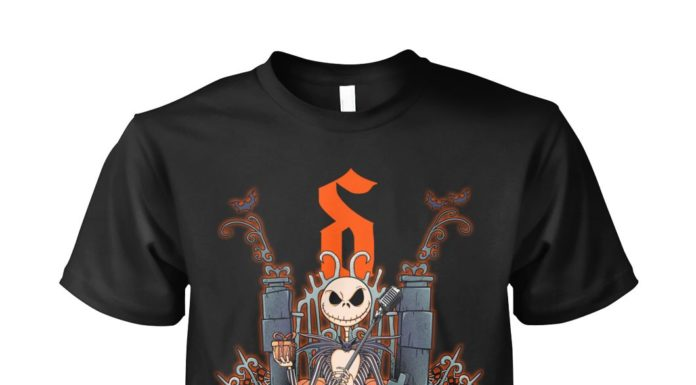Jack Skellington Shine Down unisex shirt