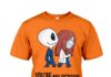 Jack Skellington and Sally you are my person shirt