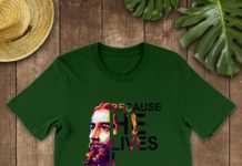 Jesus Because He Lives I Can Face Tomaorrow shirt