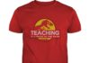 Jurassic Park Teaching It a walk in the park shirt
