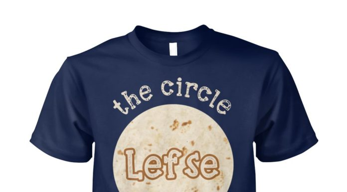Lefse the circle of life unisex cotton tee
