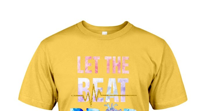 Let The Beat Drop Nurse shirt