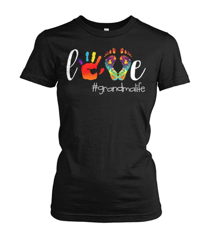 Love grandmalife women shirt