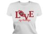 Love my Georgia Bulldogs football lady shirt