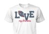 Love my patriots unisex cotton tee