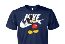 Mickey Mouse nike unisex cotton tee
