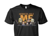 Minions horror-able me shirt