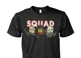 Minions the nightmare ends on halloween squad shirt