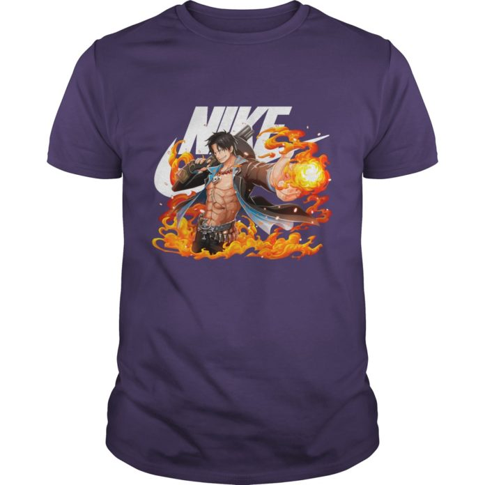 Monkey D. Luffy nike shirt