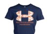 Multiple sclerosis awareness ribbon women's crew tee