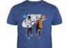Naruto and Sasuke Nike Adidas shirt