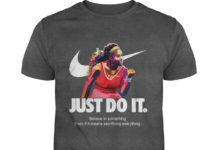 Nike Just Do It Serena Williams shirt