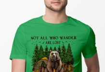 Not All Who Wander Are Lost Some Became My Breakfast shirt