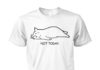 Not today cat unisex cotton tee