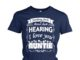 Nothing feels better than hearing I love you auntie shirt