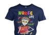 Nurse life got me feelin' un poco loco women's crew tee