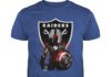 Oakland Raiders Marvel all avengers heroes in one shirt