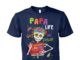 Papa life got me feelin' un poco loco unisex cotton tee