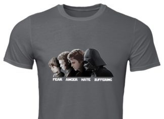 Path The Dark Side Fear Anger Hate Suffering shirt