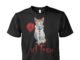 Pennywise kitten horror shirt