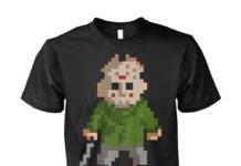 Pixel Jason Halloween unisex shirt