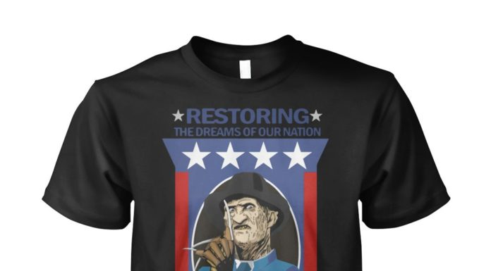 Restoring the dreams of our nation vote Krueger for President shirt