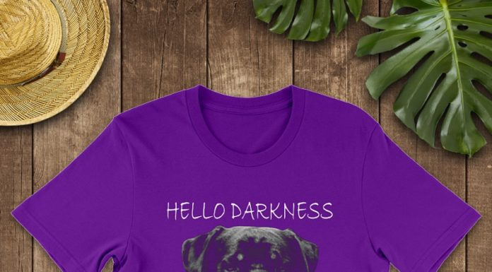 Rottweiler Hello Darkness My Old Friend shirt
