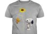 Snoopy Sunflower You Are My Sunshine shirt