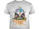 Snoopy Woodstock and Charlie Brown Peace Love and Cure Multiple Sclerosis Awareness shirt