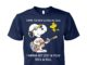 Snoopy and Woodstock gimme the beat and free my soul unisex cotton tee
