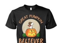 Snoopy great pumpkin believer since 1966 unisex shirt
