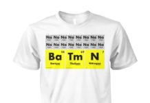 Sodium batman unisex shirt