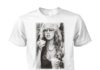 Stevie Nicks young smoking shirt