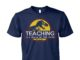 Teaching is a walk in the park Jurassic Park unisex cotton tee